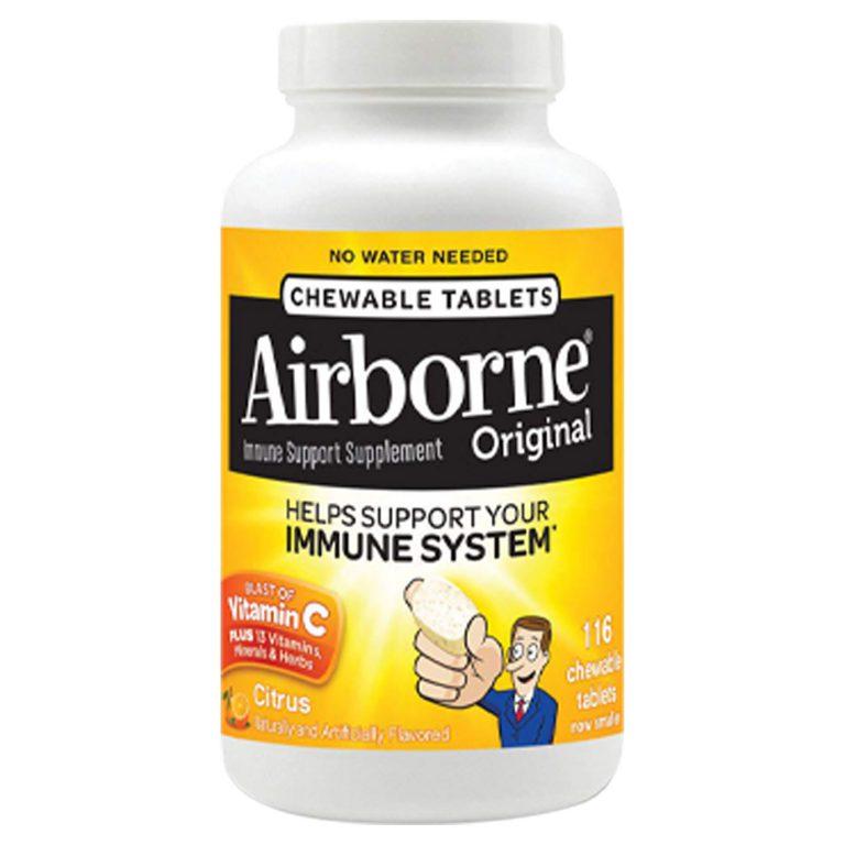 Airborne 多元维生素咀嚼片 提高免疫力