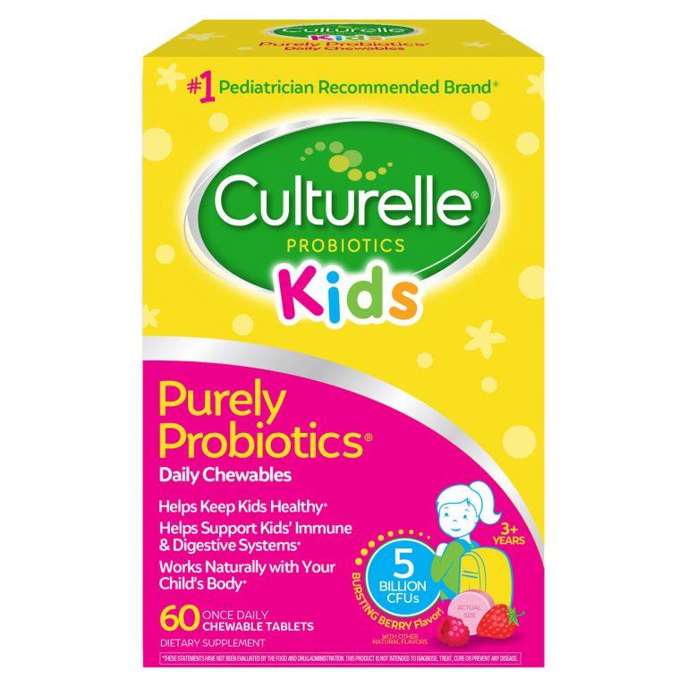 康萃乐儿童益生菌咀嚼片 Culturelle Kids Chewables Probiotic