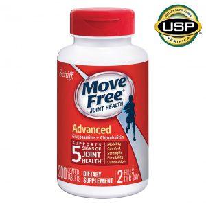 Move Free 益节 氨糖软骨素片 红瓶 维骨力
