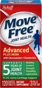 Move Free 维骨力 绿瓶 氨糖软骨素+MSM