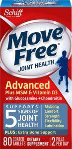 Move Free 维骨力 绿瓶 氨糖软骨素+MSM+VD