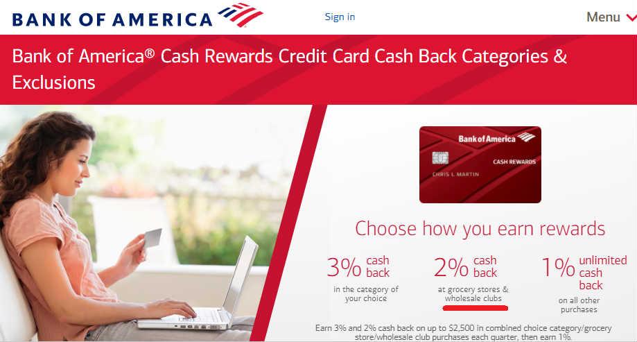 Costco 用BoA信用卡