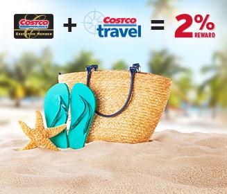 Costco预订旅行