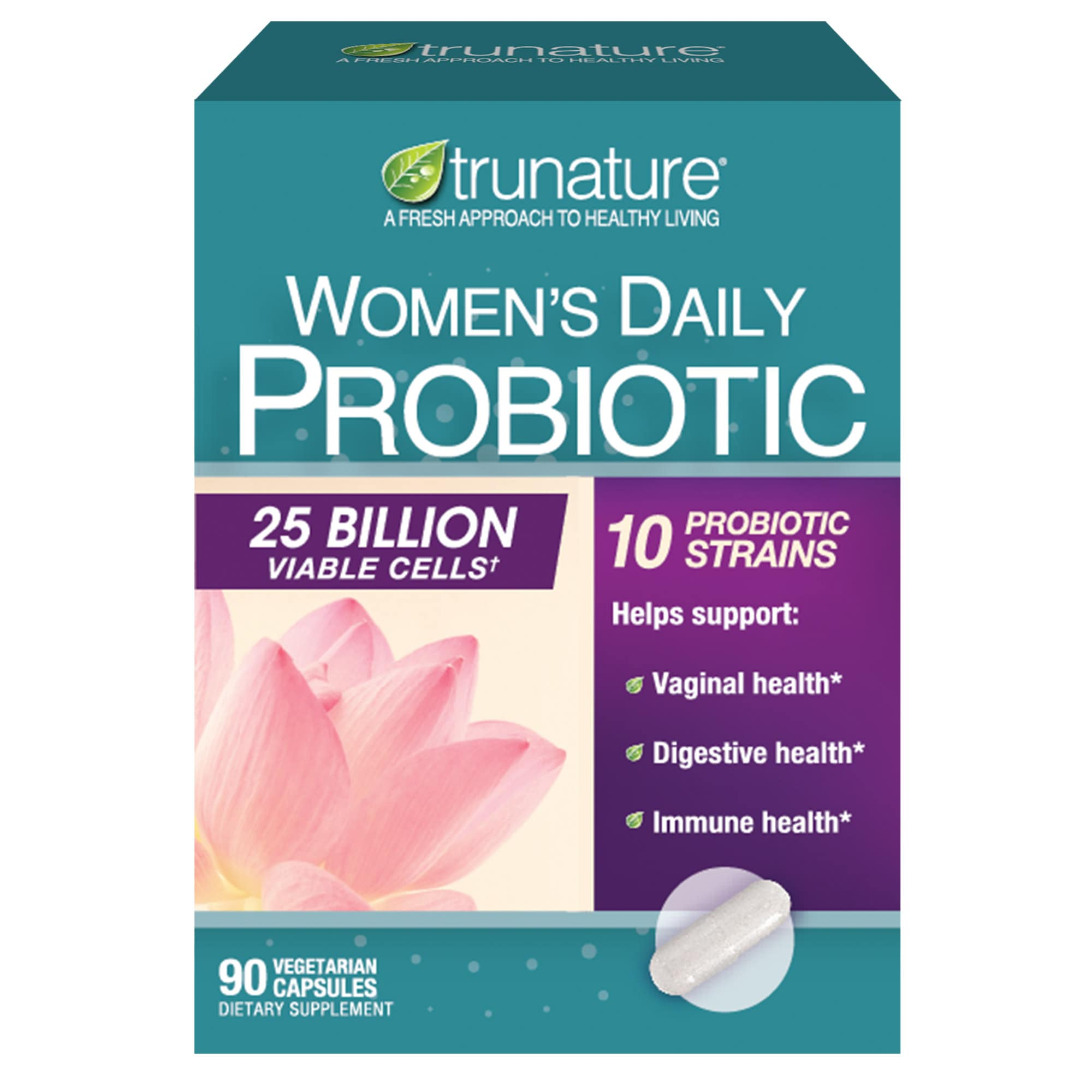 trunature 女性每日益生菌胶囊 Women's Daily Probiotic