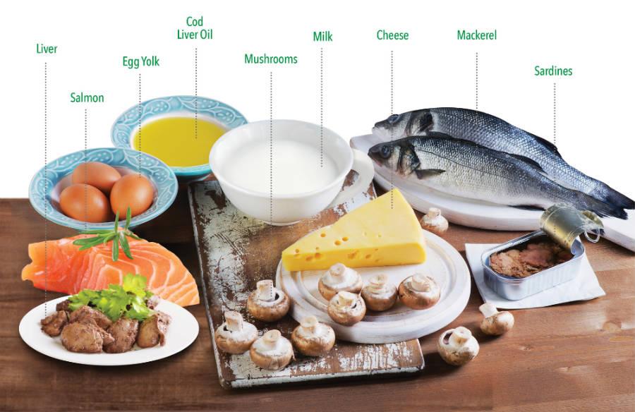 维生素D食物来源